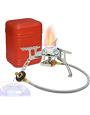 Zoeson Outdoors Camping Stove,Backpacking Stove,Backpack Stove, Ultralight Collapsible Stove Backpacking …