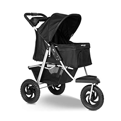 Paws & Pals Deluxe 3-Wheels Foldable Pet Stroller