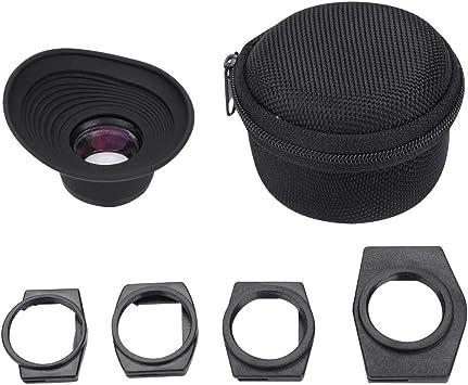 Elerose Lupa Visor Ocular, 1.3X Visor de Enfoque Fijo Adaptador ...