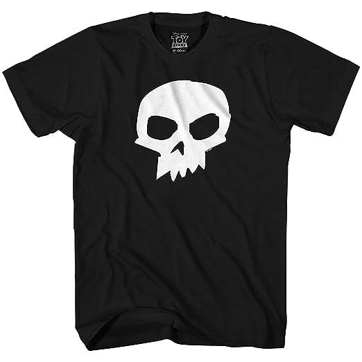 Amazon Com Disney Pixar Toy Story Sid Skull T Shirt Clothing