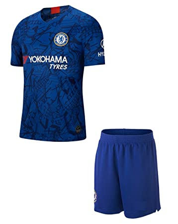 GOLDEN FASHION Chelsea Home KIT 2019 20 Football Jersey with Short Jerseys