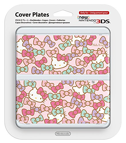 New Ninendo 3DS Cover Plate No.066 (Hello Kitty)