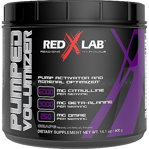 Red X Lab Pumped Volumizer Grape 21 Servings