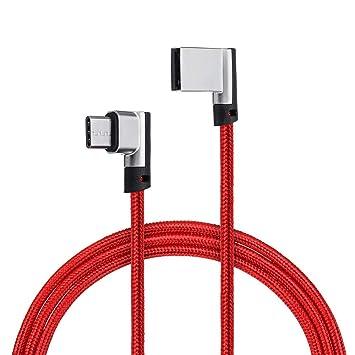 K8U139 @FATO Bakeey 90 Grados Reversible Tipo de Cable ...