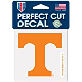 """NCAA University of Tennessee 48907012 Perfect Cut Color Decal, 4"""" x 4"""", Black"""