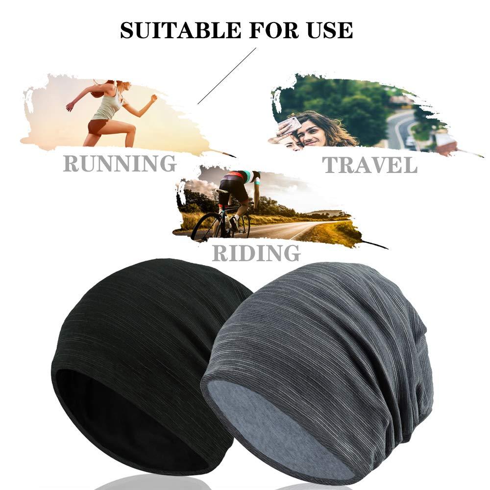 O-Kinee R/étro Bonnets Slouch Jersey Cr/âne Bonnet Mince /Ét/é Chapeau