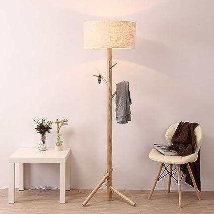 Amazon.com: PLLP Home Floor Lamp, Floor-Standing Reading Led ...