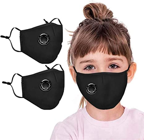 Image ofLazzgirl Infantil Reutilizable y Lavable Algodón con Carbón Activado Filtro Antipolvo Antivaho, Ajustable para Los Oídos Pack 2 unidades Almohadilla NKZ-0615A29