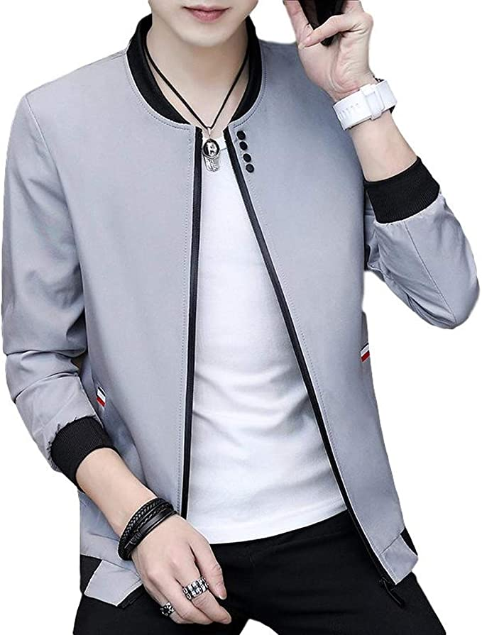 [ベンケ] MA-1 ブルゾンジャケット メンズ カジュアル スマート トップス フライトジャケット 羽織り 春服 M~2XL
