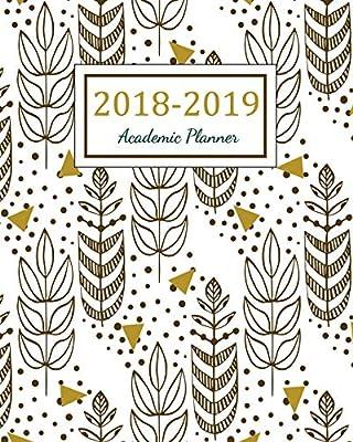 Amazon com: 2018 - 2019 Academic Planner: 2018 - 2019 Two