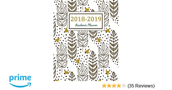 Amazon.com: 2018 - 2019 Academic Planner: 2018 - 2019 Two ...