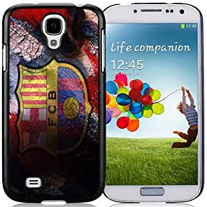 NEW Unique Design Soccer Club Barcelona 03 Football Logo Samsung Galaxy S4 I9500 Cell Phone Case