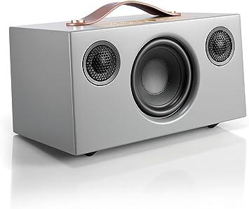 Audio Pro Addon C5 - Altavoz , con Alexa Integrada, (25 Watt, Multiroom, Stereo, WiFi, Bluetooth, App, Air Play, Music Apps (Spotify, Tidal, Deezer), radio por internet como TuneIn) Color Gris