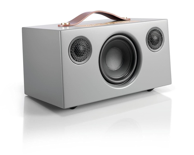Audio Pro Addon C5 Altavoz (25 Watt, Multiroom, Stereo, WiFi, Bluetooth, App, Air Play, Music Apps (Spotify, Tidal, Deezer), Radio por Internet como TuneIn) Color Gris