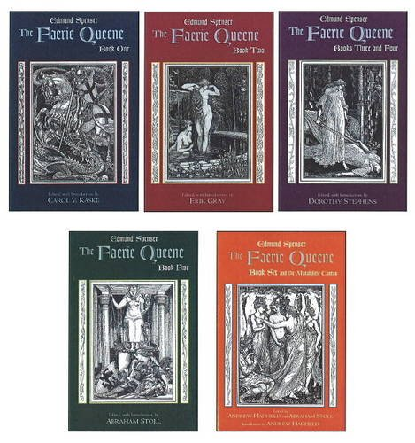 The Faerie Queene: Complete in Five Volumes: Book One; Book Two; Books Three and Four; Book Five; Book Six and the Mutabilitie Cantos by Brand: Hackett Pub Co
