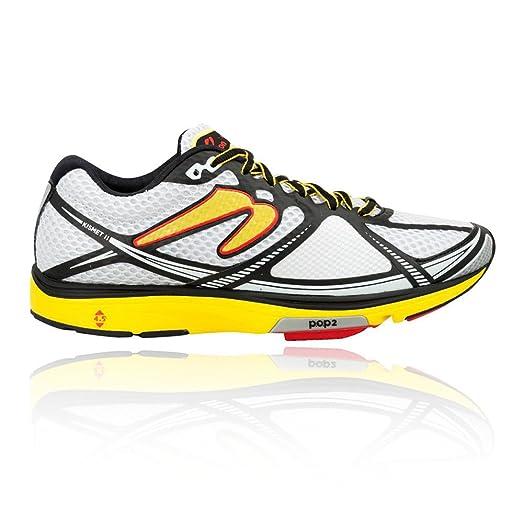 Newton Running Men's Kismet II White/Yellow Athletic Shoe
