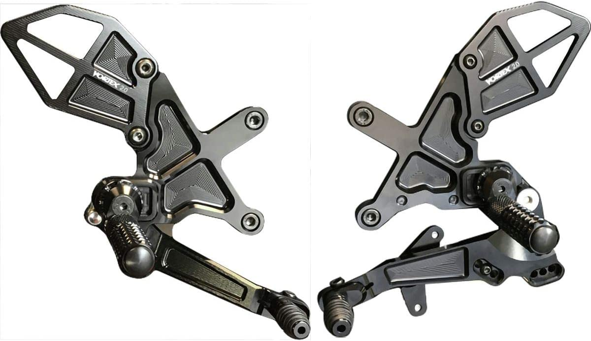 Black Compatible with 16-17 Kawasaki ZX10R Long Vortex V3 2.0 Clutch Lever