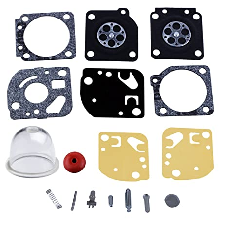HIPA RB-29 Carburetor Rebuild Kit for Zama C1U Series Homelite Ryobi A03979  Carb Gasket Diaphragm String Trimmer Blower