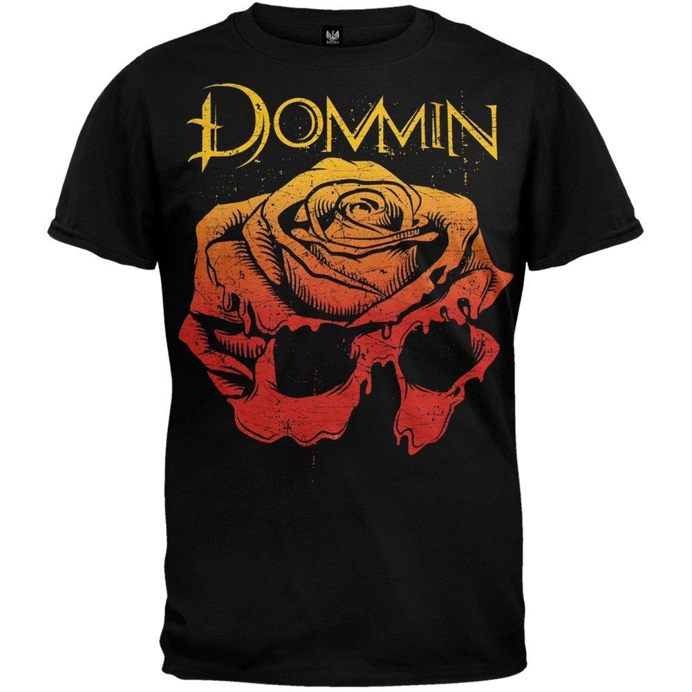 Dommin S Rose Skull Soft T Shirt X 9978