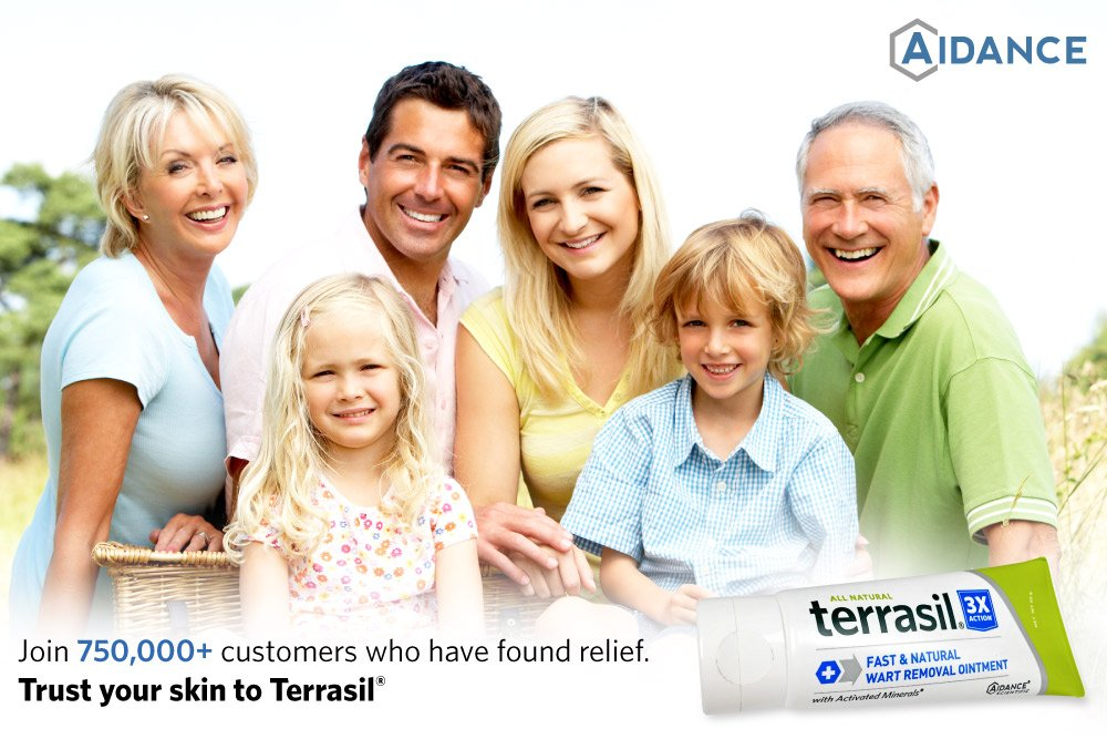 Terrasil Fast & Natural Wart Removal Ointment (50 Gram, Max) by Aidance Skincare & Topical Solutions (Image #4)