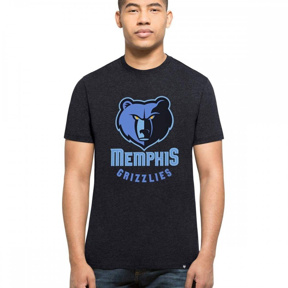 '47 Brand Memphis Grizzlies Club NBA T-Shirt Navy '47 Brand