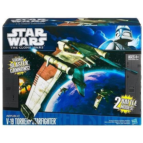 - Star Wars Clone Wars Starfighter V-19 Vehicle