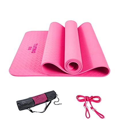 Amazon.com : ZH Mats 0.8mm Thick Yoga Mat Eco Friendly ...
