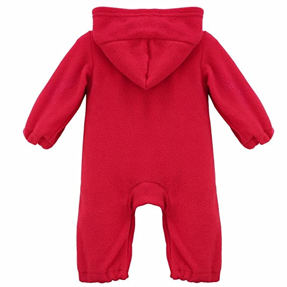 Amazon.com: FEESHOW Baby Boy Girl Christmas Outfits Reindeer/Santa Costumes Hooded Romper: Clothing