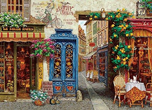 COBBLE HILL Rue Lafayette Jigsaw Puzzle (1000 Piece)