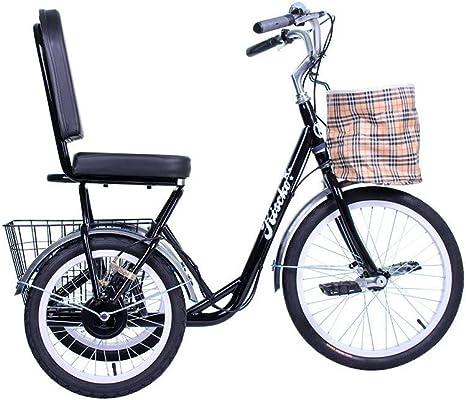 Riscko Wonduu Triciclo con Cesta Park Bep-46 Negro: Amazon.es ...