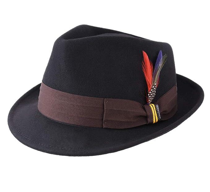 0e6b89081 Stetson - Trilby Hat Wool Felt Water Repellent Men Paul's Habit ...