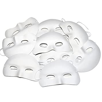 Childrens Half Face Masks To Decorate Amazoncouk Toys Games Beauteous Half Masks To Decorate