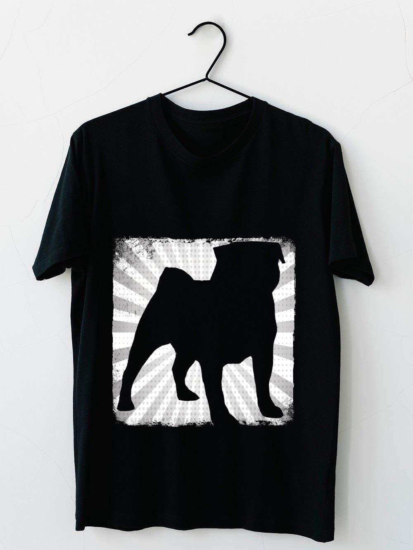 Black Pug 68 T Shirt For Unisex