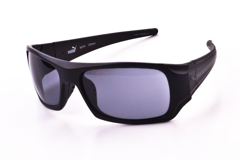 Gafas de sol Unisex Puma negro acabado mate PU15047-BK ...