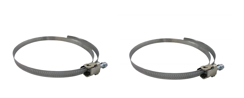 AirTech-UK - Abrazadera de Clip para Manguera de Ventilación Flexible (150 mm, Paquete DE 2, 3, 5 y 10)