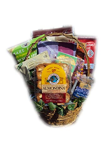 heart healthy father s day gift basket by well baskets amazon com