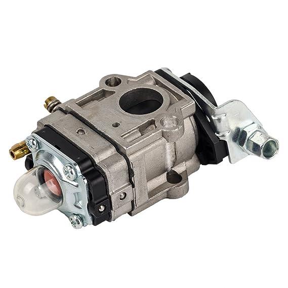 Ingesta carburador para Motor de 2 tiempos 43 cc 49 cc de filtro ...