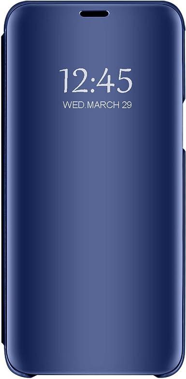 Carcasa Xiaomi Mi 8 Flip Fundas Espejo PC Clear View 360 ...