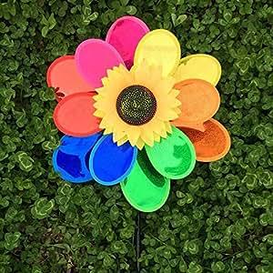 Doble capa jardín Spinner, flores Spinner para los niños