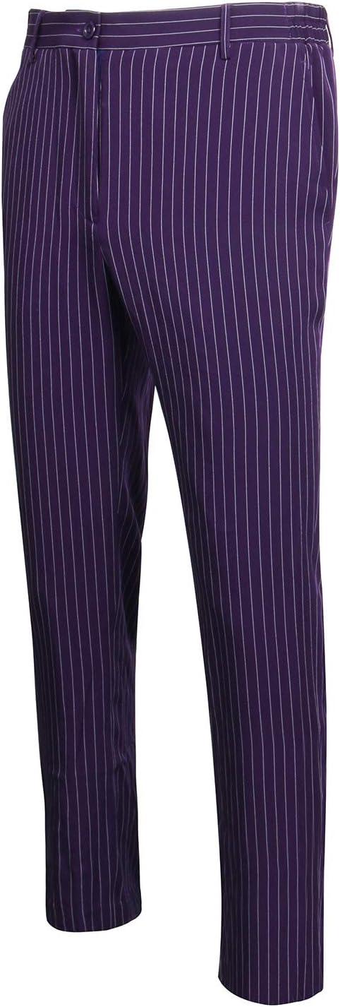 NUWIND - Pantalones Rayas de Joker para Hombre Disfraz Batman The ...