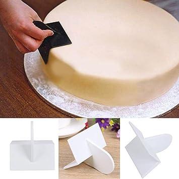 Herramientas para decoración de tartas, moldes para pasteles, moldes de pulidor, para decoración de fondant, azúcar, glaseado medium D: Amazon.es: Hogar