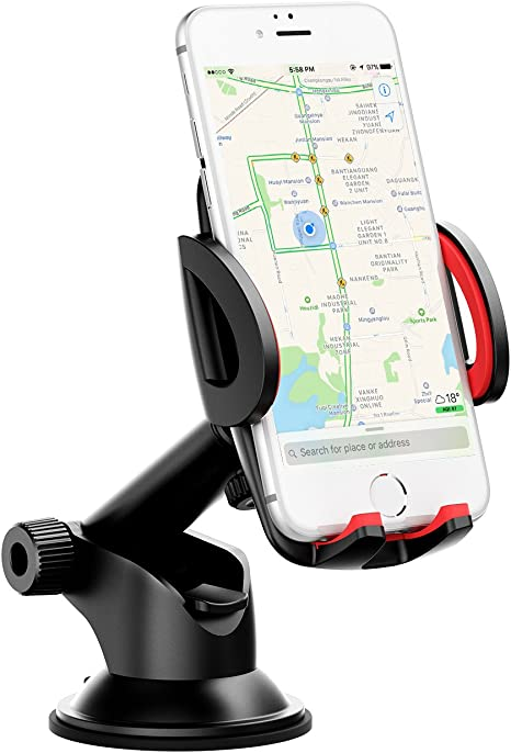 Mpow - Soporte de teléfono móvil para coche, soporte de teléfono ...