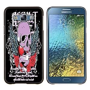 Dragon Case - FOR Samsung Galaxy E7 E7000 - you can choose to love me - Caja protectora de pl??stico duro de la cubierta Dise?¡Ào Slim Fit