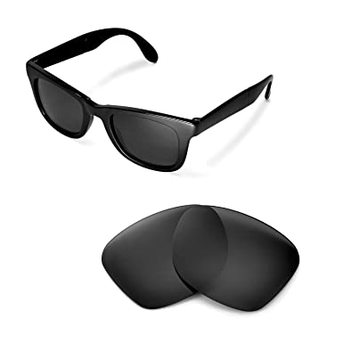 265d24f4c1 Walleva Replacement Lenses for Ray-Ban Wayfarer RB4105 50mm Sunglasses -  Multiple Options Available(
