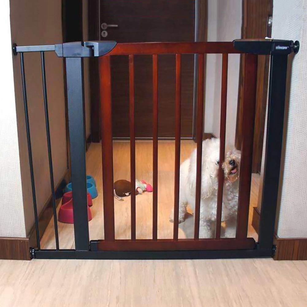 ペット猫犬フェンスドアバー、子供赤ちゃんの安全ゲート暗号化安全ドア圧力フィット分離ドア、高さ74.5センチ (サイズ さいず : 103-110cm) 103-110cm  B07Q7T3DSF