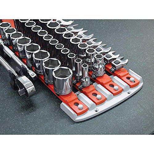 APT/ Ernst 8470 RD + 8471 BL TWIST LOCK Socket Organizer Red / Blue Systems by APT/Ernst (Image #4)