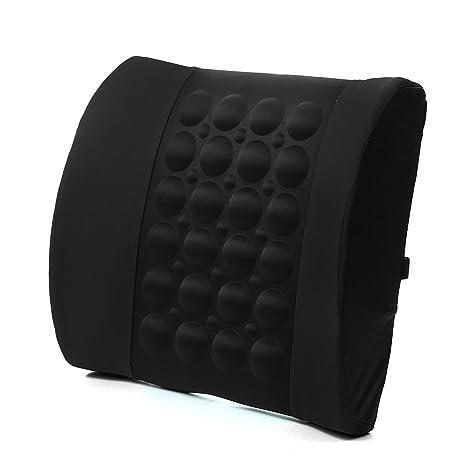Cojín para la espalda de apoyo lumbar para la columna vertebral, de Joystore