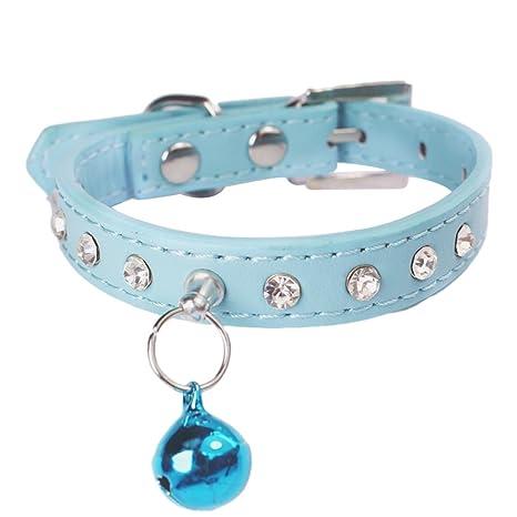 Sobotoo Collar Ajustable para Mascota, Perro, Gato, Gato, Perro, Gato,