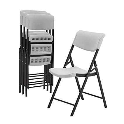 Pleasant Amazon Com Superday Durable Folding Chair With Molded Seat Machost Co Dining Chair Design Ideas Machostcouk
