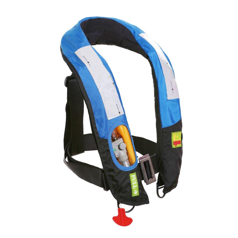 Eyson Slim Inflatable PFD Life Jacket Life Vest Adult Automatic/Manual (ES639717 Blue)